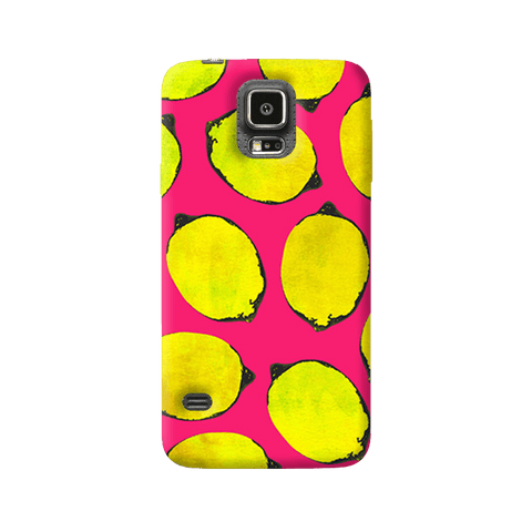 Lemon Pink Samsung Galaxy S5 Case