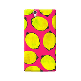 Lemon Pink Sony Xperia Z Case