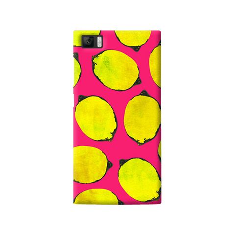 Lemon Pink Xiaomi Mi3 Case
