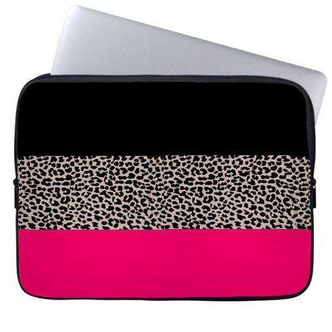 Leopard Flag Laptop Sleeve