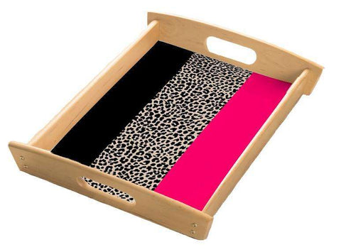Leopard Flag Serving Tray