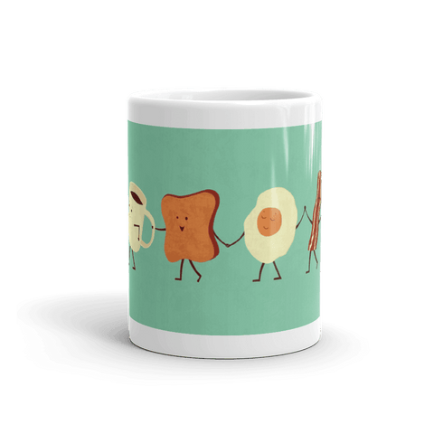 Let's Have Breakfast Coffee Mug