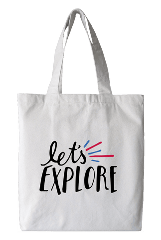 Lets Explore Tote Bag