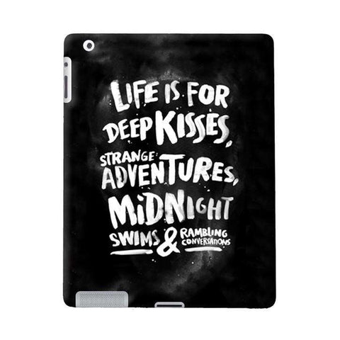 Life Is For Apple iPad Case
