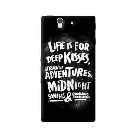 Life Is For Sony Xperia Z Case