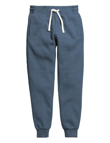 Light Blue Melange Women's Sweatpants