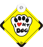 Love Dog Car Sign
