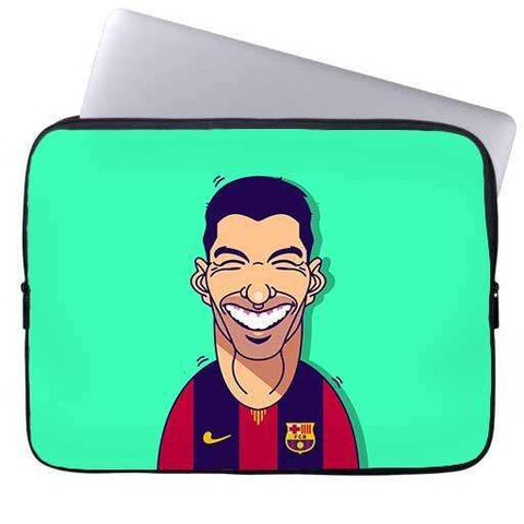 Luis Suarez Laptop Sleeve
