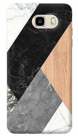Marble Wood Abstract Samsung Galaxy J7 Prime Case