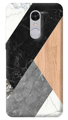 Marble Wood Abstract Xiaomi Redmi Note 4 Case