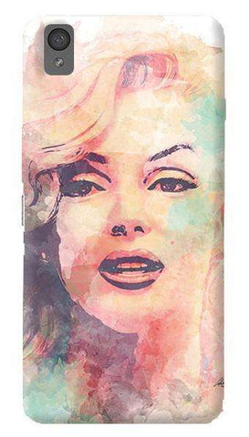 Marilyn Abstract   Oneplus X Case