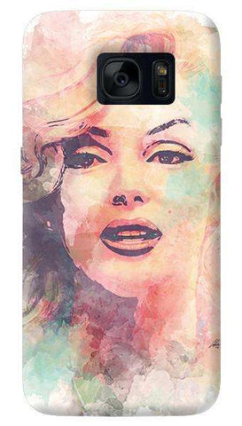 Marilyn Abstract   Samsung Galaxy S7 Edge Case