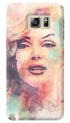 Marilyn Abstract  Samsung Galaxy Note 5 Case