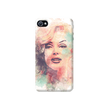 Marilyn Abstract Apple iPhone 4/4S Case