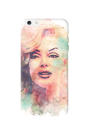 Marilyn Abstract Apple iPhone 6 Plus Case