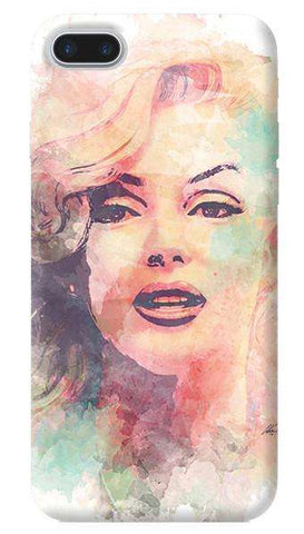 Marilyn Abstract Apple iPhone 7 Plus Case