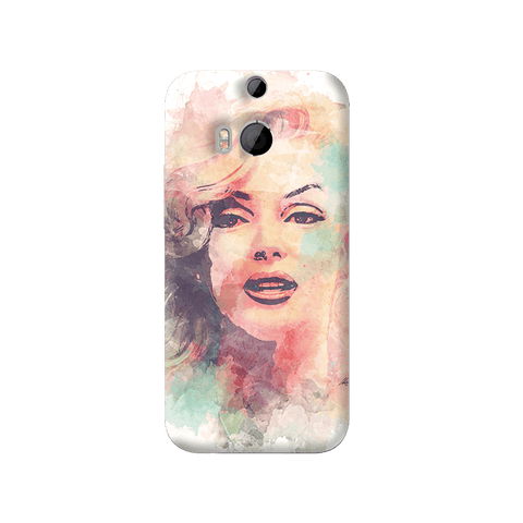 Marilyn Abstract HTC One M8 Case