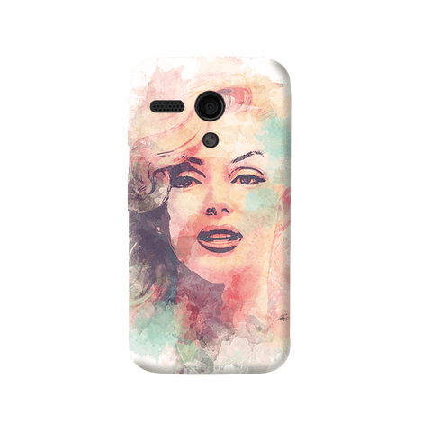 Marilyn Abstract Moto G Case