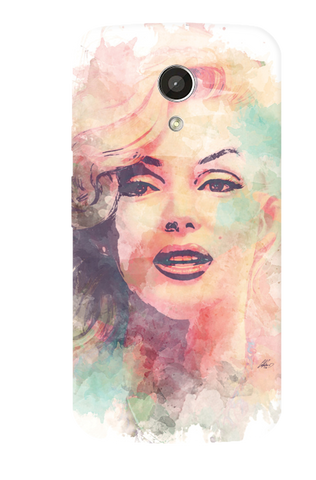 Marilyn Abstract Motorola Moto G 2nd Gen Case