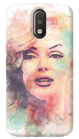 Marilyn Abstract Motorola Moto G4/ G4 Plus Case