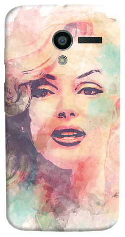 Marilyn Abstract Motorola Moto X Case