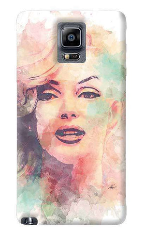 Marilyn Abstract Samsung Galaxy Note 4 Case