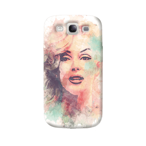 Marilyn Abstract Samsung Galaxy S3 Case