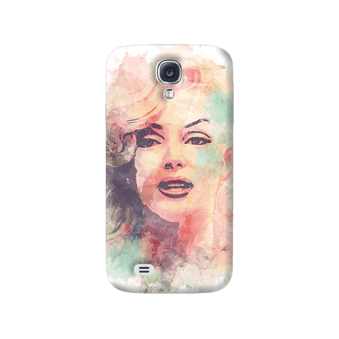 Marilyn Abstract Samsung Galaxy S4 Case