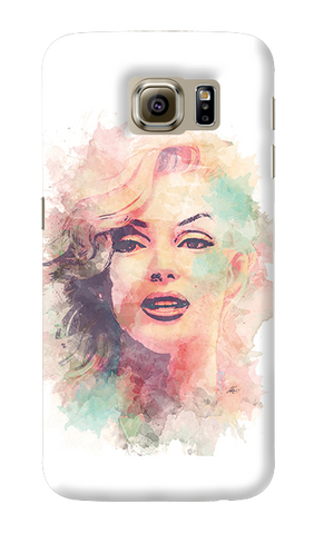 Marilyn Abstract Samsung Galaxy S6 Case
