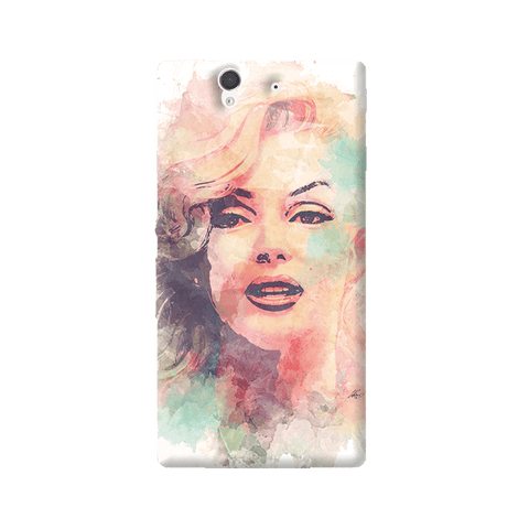 Marilyn Abstract Sony Xperia Z Case