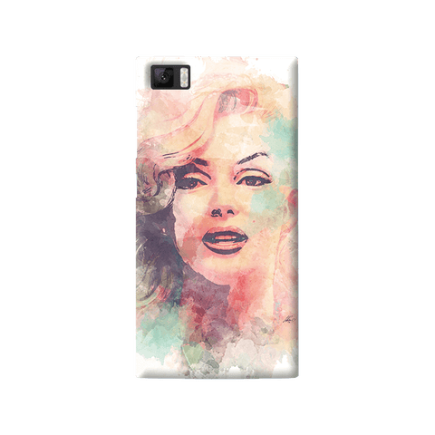 Marilyn Abstract Xiaomi Mi3 Case