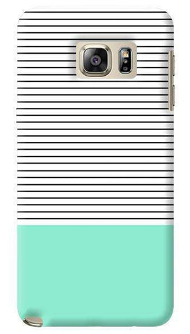 Minimal Mint  Samsung Galaxy Note 5 Case