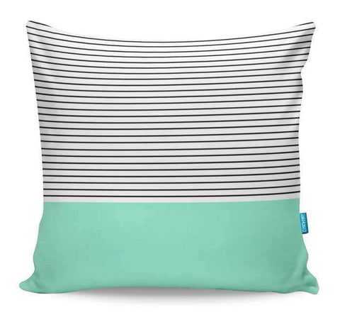 Minimal Mint Cushion Cover
