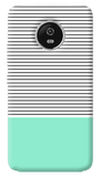 Minimal Mint Motorola Moto G5 Plus Case