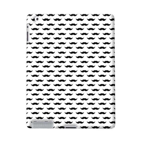 Minimal Mustache Apple iPad Case