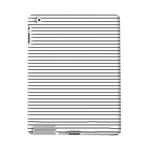 Minimal Stripes Apple iPad Case