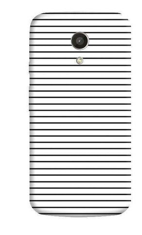 Minimal Stripes Motorola Moto G 2nd Gen Case