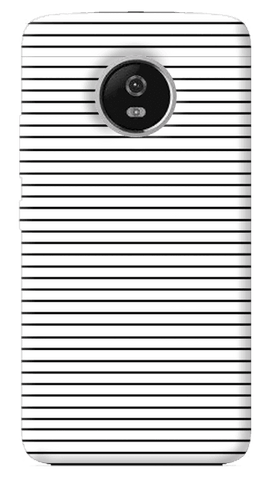 Minimal Stripes Motorola Moto G5 Plus Case