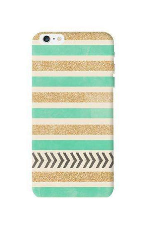 Mint & Gold Apple iPhone 6 Plus Case