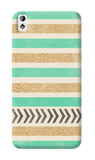 Mint & Gold HTC Desire 820 Case