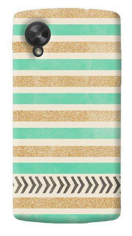 Mint & Gold LG Nexus 5 Case