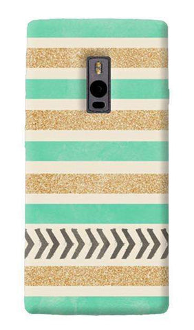 Mint & Gold OnePlus Two Case