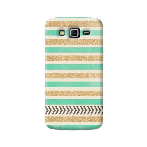 Mint & Gold Samsung Galaxy Grand 2 Case