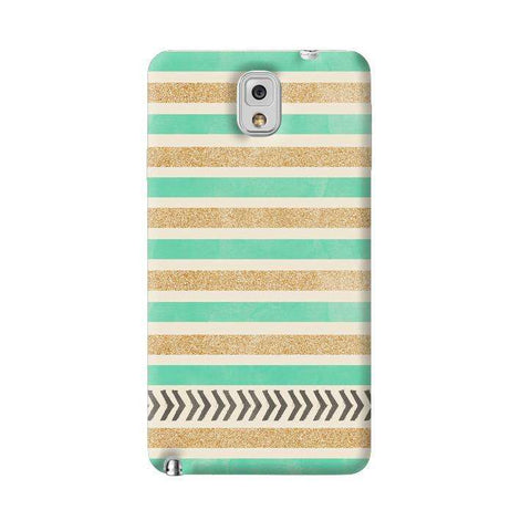 Mint & Gold Samsung Galaxy Note 3 Case