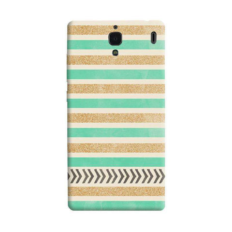 Mint & Gold Xiaomi Redmi 1S Case