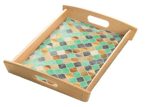 Mint Pastel Serving Tray