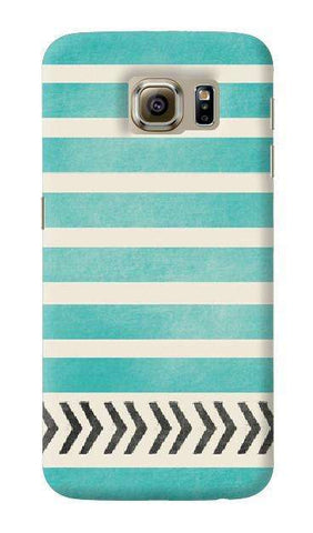 Mint Teal _ Arrow  Samsung Galaxy S6 Case