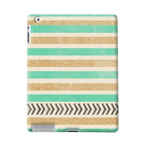 Mint _ Gold Apple iPad Case