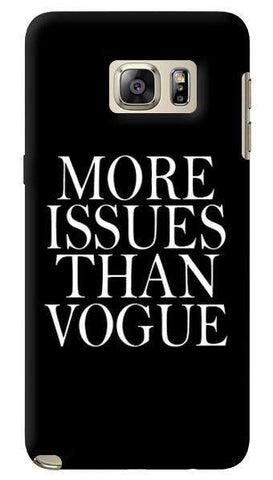 More Issues Than Vogue  Samsung Galaxy Note 5 Case
