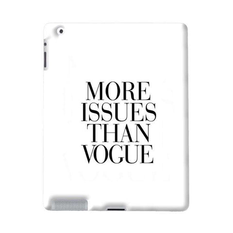 More Issues Than Vogue Apple iPad Case